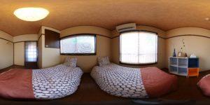 恵美須 2Fベッドルーム